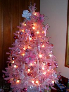 Pretty in Pink Tree - from our customer in WA