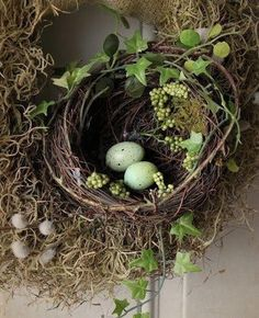 #easter #ostern #nest #eggs #eier