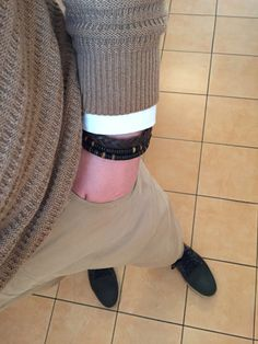 H&M and italian street seller brecelets :-) #men #middle_aged #street #fashion #brecelet #accessories