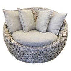 peanut chair kubu grey