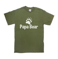 e830f3a3 Funny Dad Shirt Papa Bear T Shirt Father TShirt Daddy TShirt Dad Gift Ideas  For Him Fathers Day Gift Fathers Day T Shirt Mens Tee - SA69