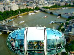 London Eye Tilt-Shift