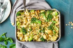 Enkel og sunn ukesmeny for hele familien Pasta Salad, Pesto, Macaroni And Cheese, Food And Drink, Dinner, Ethnic Recipes, Tips, Summer, Crab Pasta Salad