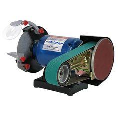 Multitool 1 hp 2x36 Belt Grinder, Sander, Polisher - Metal Fabrication