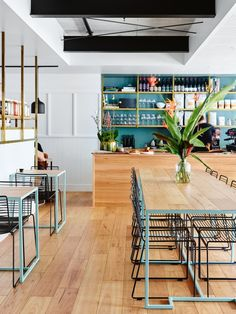 The bold interiors of new Brisbane cafe Gauge - Vogue Living