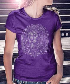Look at this Royal Purple King Lion Tee on #zulily today!