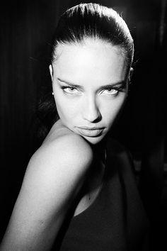 Adriana Lima - beautiful FOREHEAD