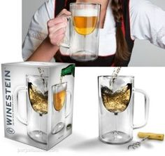 Gag Gifts for Christmas -  Double-Walled Stemware Mug, Wonderful and fun gift For more great gift ideas visit http://bestnewweboffers.com/category/christmas-gifts-and-decorations/novelty-gag-toys-for-christmas/ #Christmas, #gifts, #Gag