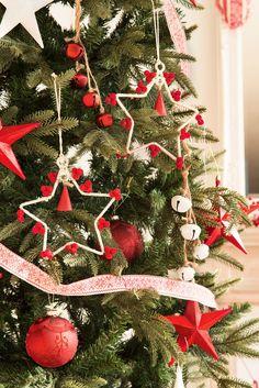 Ideas para decorar el árbol de Navidad: 3 árboles, 3 estilos