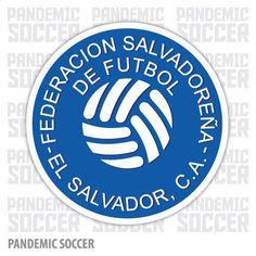 El Salvador Selecta Futbol Vinyl Sticker Decal