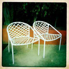 Exceptional Vintage Brown Jordan Chairs