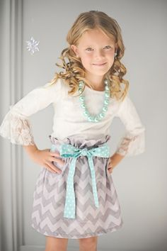 Taylor Joelle Designs Baby and Children's Clothing Boutique - The Chevron Bag Skirt