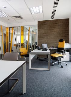 10 stylish modern office interior design ideas executive for Manager office design ideas
