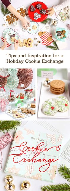 Throw a holiday cookie exchange party! The holiday season just wouldn't be complete without enjoying some tasty Christmas cookies.