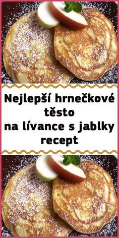 My Dessert, Dessert Recipes, Desserts, Slovakian Food, Czech Recipes, Apple Cake, Yummy Treats, Sweet Recipes, Food To Make