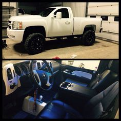 Single cab Chevy with tow mirrors Lifted Chevy Trucks, Dodge Trucks, Chevrolet Trucks, Chevrolet Silverado, Pickup Trucks, Lifted Dodge, Chevy Silverado Single Cab, Single Cab Trucks, Diesel Trucks