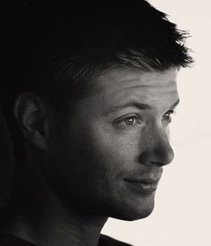Dean in black and white