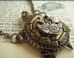 SteamPunk Turtle! I love the creativeness of this movement!