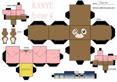 TAKASHI DROPOUT BEAR GRADUATION KANYE WEST MAKE YOUR OWN