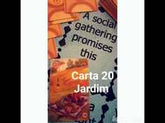 Baralho Lenormand (Baralho Cigano): o Jardim (Snapchat: ALEXCARLOS60)