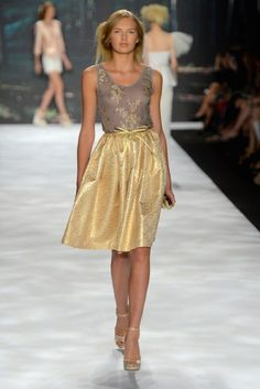 New York Fashion Week: Badgley Mischka Spring 2013