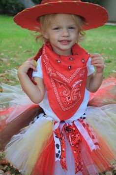 Jesse the Cowgirl Tutu  Toy Story  NB5T by CarouselKiddies on Etsy, $22.50