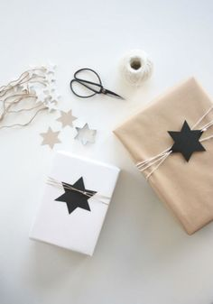 Seeing Stars | 15 Stunning Gift Wrapping Ideas For The Minimalist In You