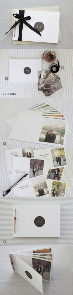 would be super cute as cards #PhotoAlbum