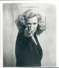 Gena Rowlands como Gloria dirigida por John Cassavetes, 1980