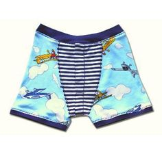 How to Sew Boys' Boxer Briefs - Sizes 2-8