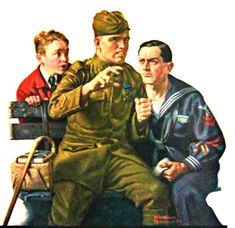My Puzzles - Vintage Stuff - Soldier's Stories 1919