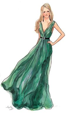 emerald green dress #PrimerasVecesbyCyzone