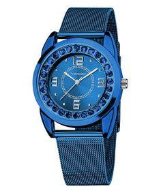 Blue & Silver Rhinestone Watch add to my favorites Vernier  $29.99
