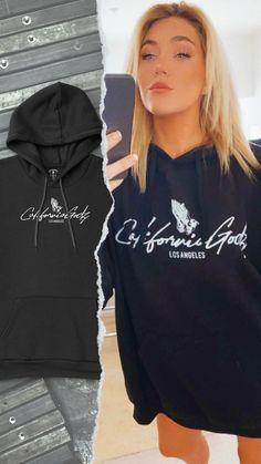 California Godz Classic Hoodie Vintage Street Fashion, Go Outdoors, Fabric Patch, Black Hoodie, Fashion Outfits, Fashion Trends, Cool T Shirts, Hippie Boho, Shirt Designs
