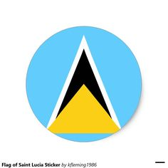 Flag of Saint Lucia Sticker
