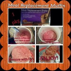 AdvoCare Meal replacement muffin