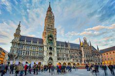 Mníchov | Dromedár.sk Munich, Louvre, Building, Travel, Viajes, Buildings, Destinations, Traveling, Trips