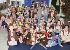 Coates Community Primary School.Christmas Nativity Performance.
