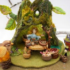 Mossy Tree Wee Folk Shop by willodel on Etsy