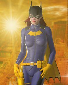 Batgirl Redesign 'Sunset City' Series by DevilishlyCreative.deviantart.com on @DeviantArt