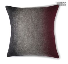 Cushion cover. Front: 100% wool felt.  Back: cotton canvas. Overlap.  Machine assembly.  40 х 40