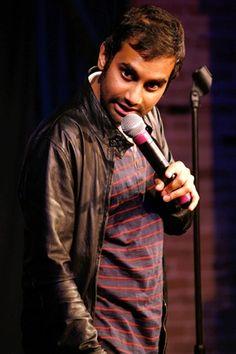 Aziz Ansari--sexy Indian comedian