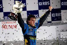 Bravo World Champion Fernando Alonso