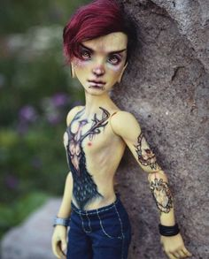 OOAK Monster High doll repaint Heath Burns nude doll Source by Custom Monster High Dolls, Monster High Repaint, Custom Dolls, Doll Head, Doll Face, Bjd, Monster High Ghoulia, Bratz, Chica Cool