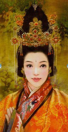 The Empress - China Tarot