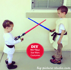 {No sew} Star Wars costumes