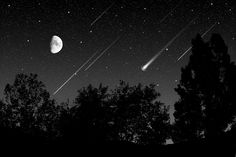 Meteor shower. This brings up great nostalgia. But most of all, I think of our family road trip to southern utah, Newspaper rock. Cuddling up in blankets, and watching together with family, cousins, grandpa.