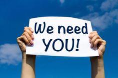 We+need+you!