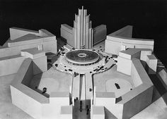 Martin Wagner, Planned remodelling of Potsdamer and Leipziger Platz, Berlin 1929