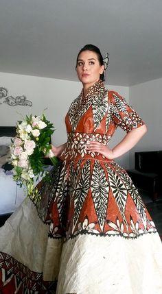 Tongan wedding dress #ngatuweddingdress #tonganweddingdress #tongandress #tonganwedding